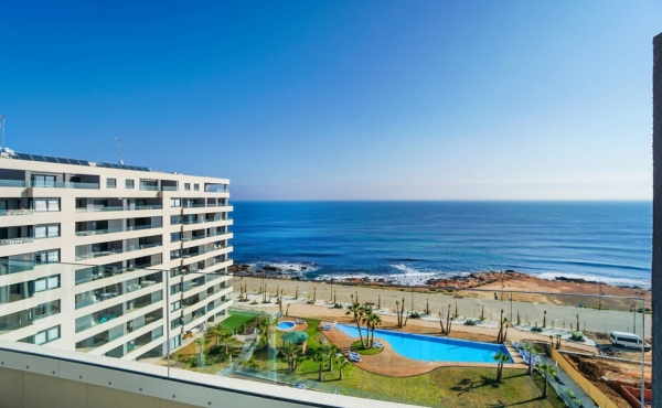 Beach Front New Build Apartments In Punta Prima