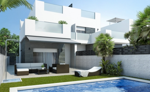 New Build Semi-Detached Villas In Lo Marabu