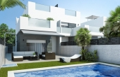 904, New Build Semi-Detached Villas In Lo Marabu
