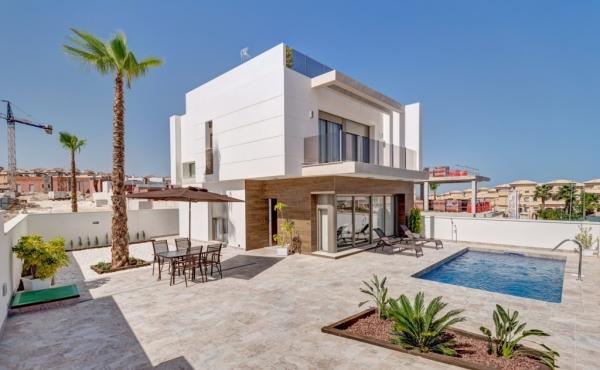 New Build Detached Villa In Villamatin