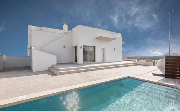 New Build Detached Villa In San Miguel de Salinas