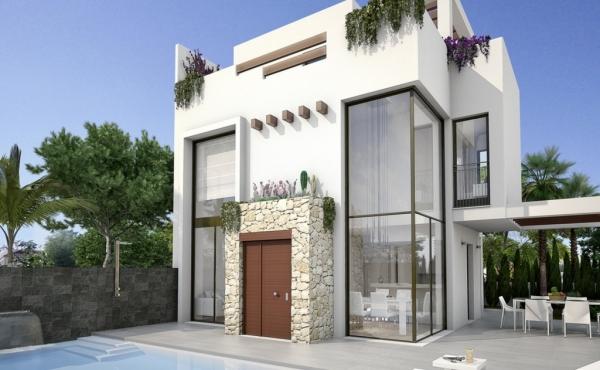 New Build Detached Villas In Quesada