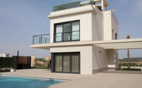 New Build Villas In Orihuela Costa